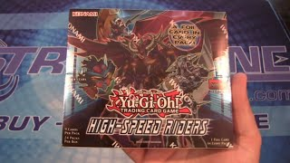 Yugioh High Speed Riders Box Opening - More Synchro Monsters!