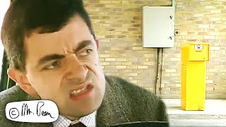 How To Exit A Car Park The Bean WAY! | Mr Bean Funny Clips | Mr Bean Official