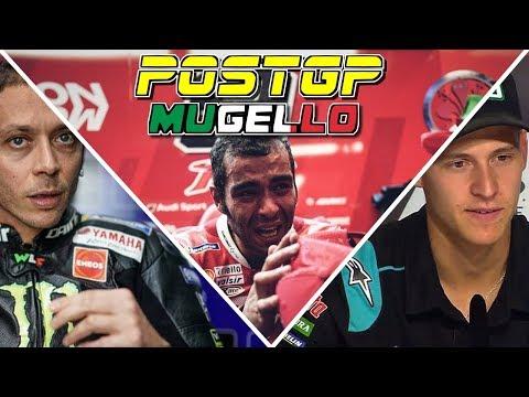 PostGP MUGELLO -- Rossi déprime, Petrucci savoure, Fabio apprend.. #MotoGP