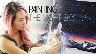 Painting the Night Sky | ANNEORSHINE Thumbnail