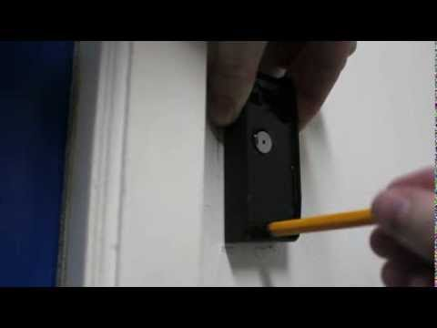 How to install RFID access control reader