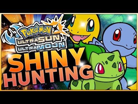 LIVE SHINY HUNTING FOR STARTER POKEMON! Pokemon Ultra Sun and Ultra Moon Shiny Hunting