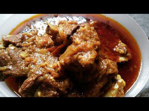 Mutton Kosha Bengali