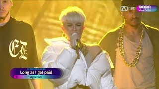 FULL HD AGNEZ MO PERFORM AT MAMA 2017