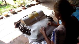 Sri Lanka,ශ්‍රී ලංකා,beeralu Lace Making In Galle Fort,spitzen,dentelle