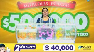 Sorteo Loteria 5986 8-MAR-17