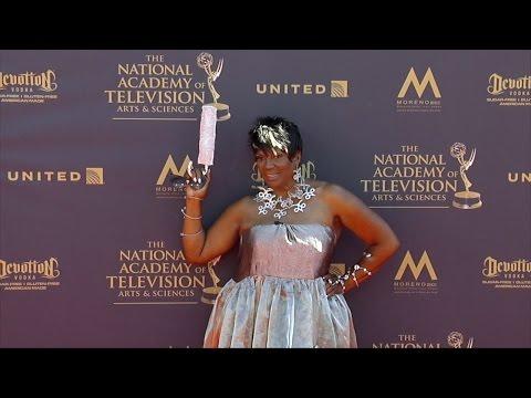 Anna Maria Horsford 2017 Daytime Emmy Awards Red Carpet