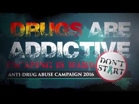 Anti-Drug Abuse Campaign Escape Game 2016 - YouTube