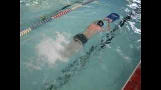 Упражнение с доской. Кроль. Обучение плаванию взрослых