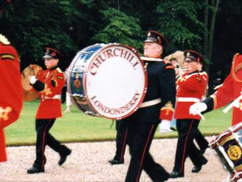 Churchill Flute Band plays