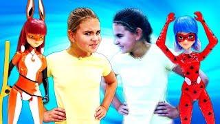 Леди Баг и Квин Би спасают Адриана! Видео с куклами - Мультик Леди Баг