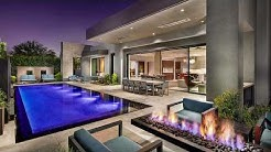 Contemporary private residence in Paradise Valley, Arizona, US. Project Azure by Shea Homes.