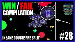 dual agar win fail compilation 28   insane double pre split