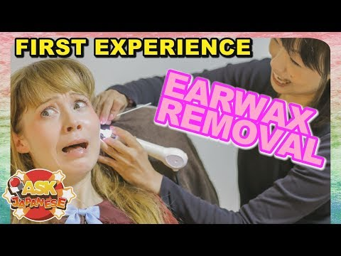 JAPANESE EAR CLEANING SALON |Ear hair cutting, ear wax removal