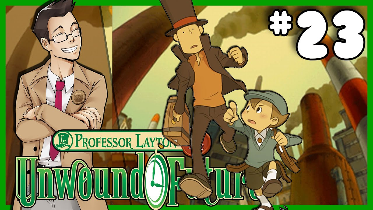 Professor Layton And The Unwound Future The Time Machine