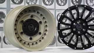 FUEL AUTOTEK Media: Black Rhino Wheel Finishes