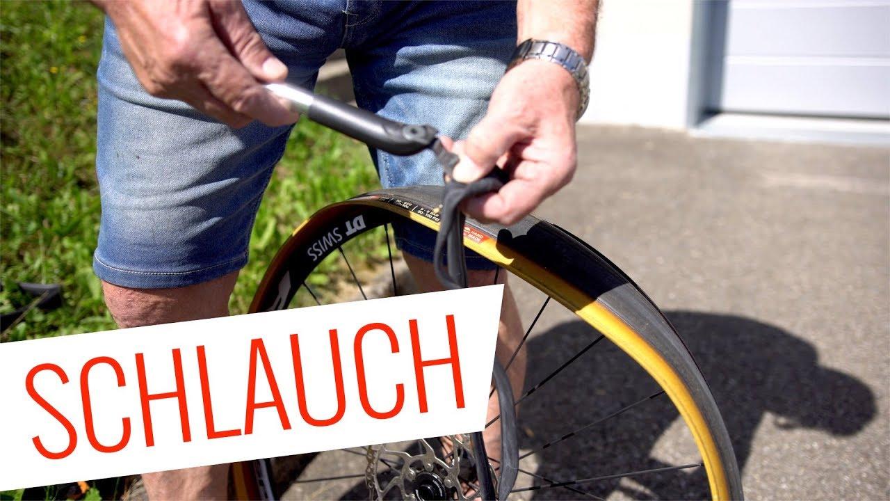 Fahrrad SCHLAUCH WECHSELN Unterwegs - Pannenhilfe