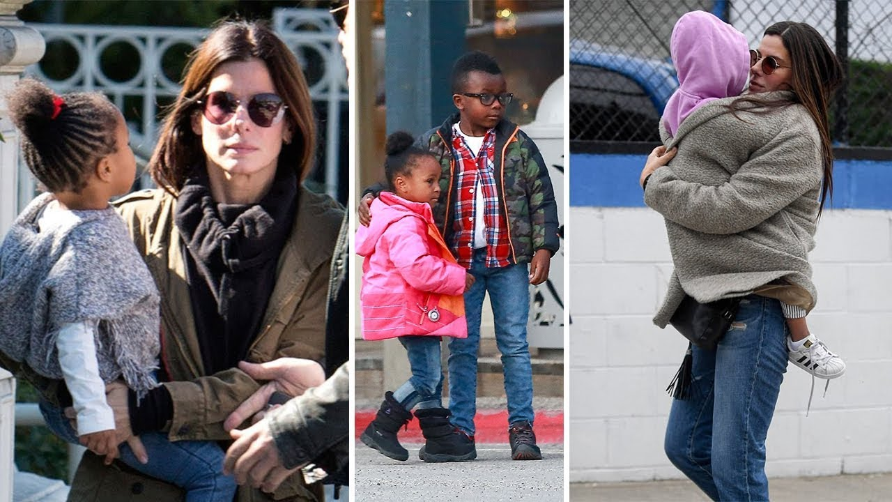 Sandra Bullock's Daughter & Son - 2018 {Laila Bullock ...