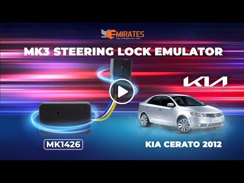 MK3 KIA & Hyundai Steering Lock Emulator For Smart Keyless Key With Lock Sound tested on Cerato2012