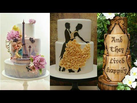 Rustic Wedding Cake Design | Cake Decorating Ideas | Beautiful Cake Compliation | Must Watch