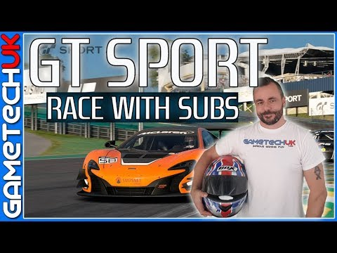 Gran Turismo Sport -- Race with Subs night -- ONLY CLEAN RACERS PLEASE!