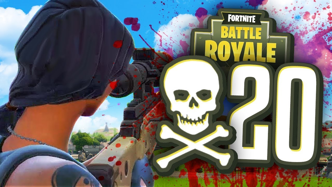 CAN I GET 20 KILLS in Fortnite Battle Royale?! - YouTube