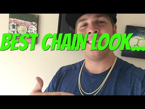 GOLD CHAIN Wearing Made EASY!
