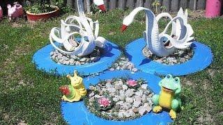 видео Поделки для дачи, двора, сада и огорода своими руками из пластиковых бутылок с фото