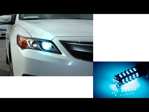 New! iJDMTOY ICE BLUE LED Daytime Running Light/ Fog Lamp Bulb
