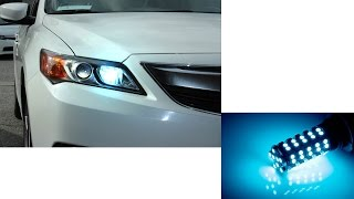 New! iJDMTOY ICE BLUE LED Daytime Running Light/ Fog Lamp Bulb