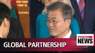1021 Pres. Moon says challenges like climate change should be addressed by all