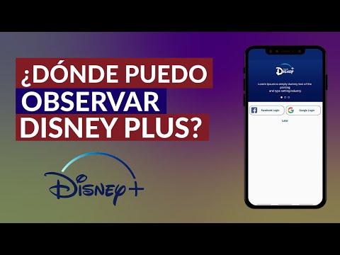 Dónde Puedo ver Disney Plus