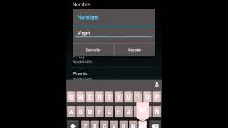 Configurar Virgin Mobile APN
