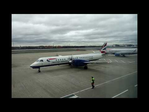 BA Cityflyer/Eastern Airways Saab 2000 London City-Isle of Man