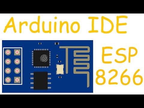 ESP8266 прошивка, программирование в Arduino IDE