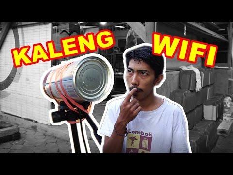 Nembak Wifi Pakai Kaleng VLOG84
