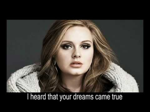 Adele - Someone Like You (+lyrics)
