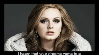 Adele - Someone Like You (+lyrics)
