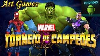 Luta de Campeões da Marvel jogos android