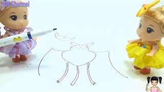 BabyBus - Tiki Mimi và Trò Chơi cây bút nhật bản thần kỳ