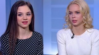 Анна Погорилая и Евгения Медведева: в фигурном катании большая конкуренция