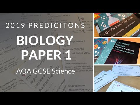 AQA 2019 Predictions | Biology Paper 1 - YouTube