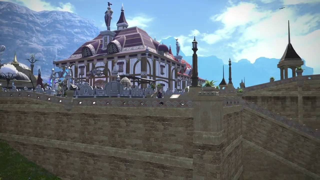 FFXIV Outfitter's House - YouTube