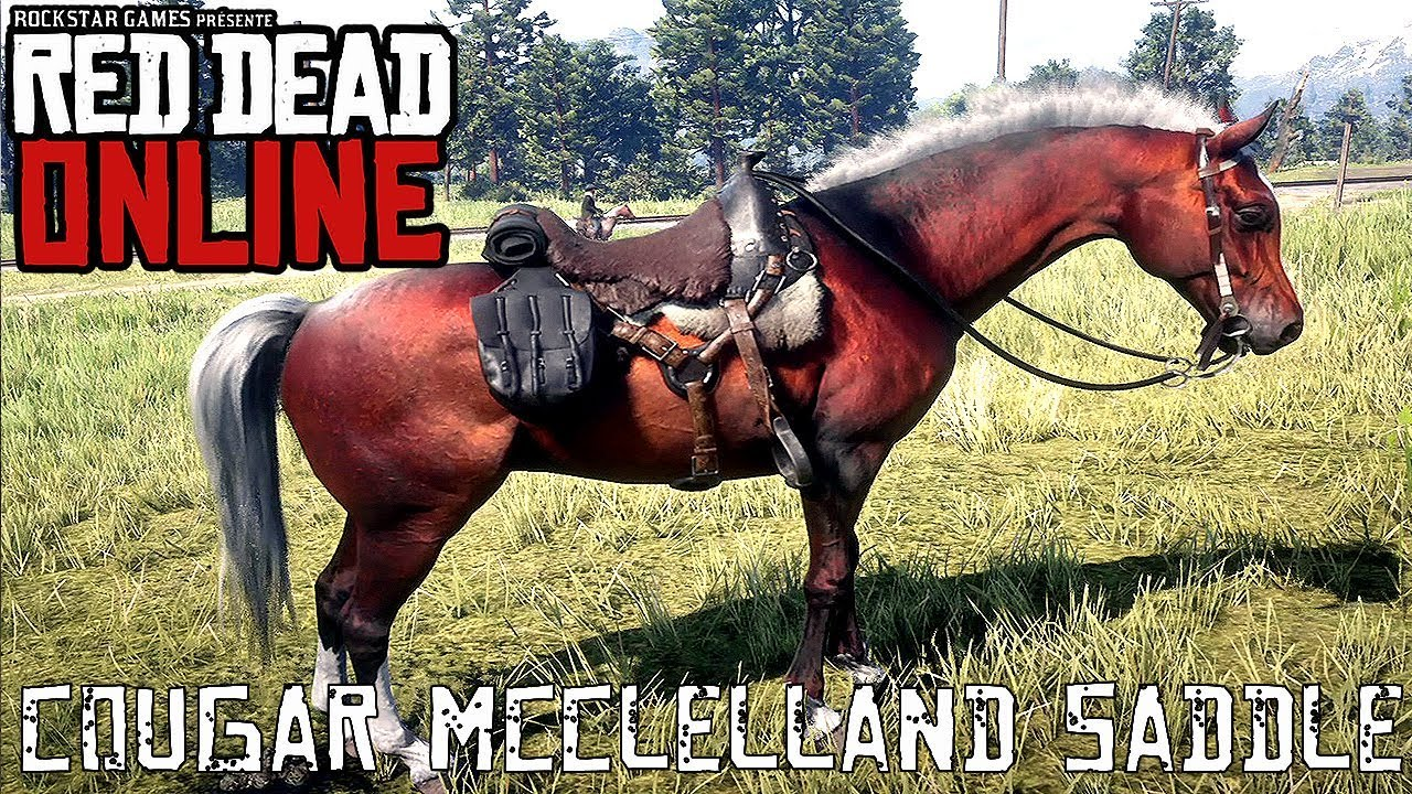 Red Dead Online - Special Saddles - Cougar McClelland Saddle