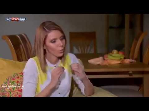 داليا عبدالله ..المذيعه السودانية بقناة اسكاي نيوز عربية .تتقن الفرنسية والروسية والانجليزية