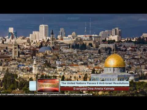 Will UN divide Israel, Resolutions passed-Iran & Russia grow closer-Ezekiel 38 Watch