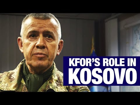 Take a look at KFOR's role in Kosovo today