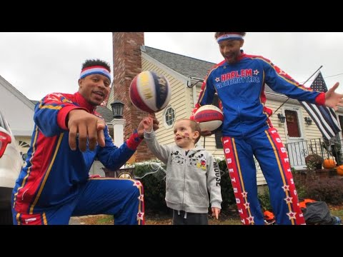 Kramer In The Morning - Quinn left treatment to go shoot hoops with The Globetrotters