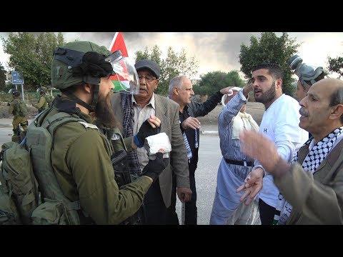 الاحتلال يعتدي ويقمع المواطنين عند مصانع جيشوري غرب طولكرم