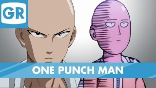 gr anime review one punch man